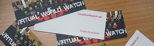 Virtual World Watch Moo cards